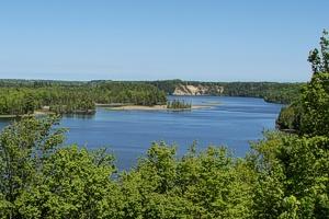 Au Sable River Alcona Dam Alcona County Michigan