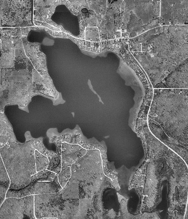 Lake Ann Map Benzie County Michigan Fishing Michigan Interactive™