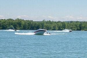 Burt Lake Colonial Point Fishing Boating Inland Waterway
