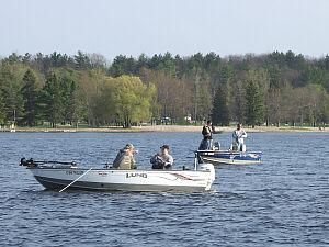 Burt Lake Indian River Fishing Boating Inland Waterway