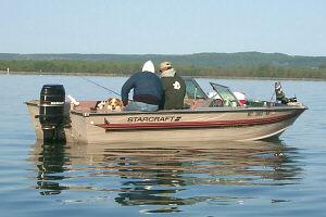 Burt Lake Kings Point Fishing Boating Inland Waterway