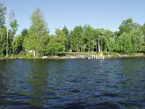Marion bay public access lake gogebic ontonagon county for Lake marion fishing report