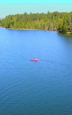 Long lake map montmorency county michigan fishing michigan for Red lake fishing report hillman s