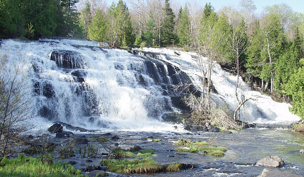 Bond Falls Michigan Map.Bond Waterfall Ontonagon County Michigan Waterfalls Michigan