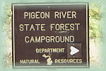 Pigeon River State Forest Pigeon River Campground
