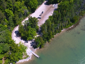 Public boat launch grand lake presque isle county michigan for Presque isle bay fishing report