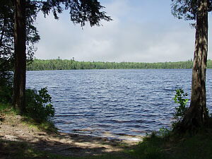 Canoe Lake State Forest Campground Schoolcraft County ...